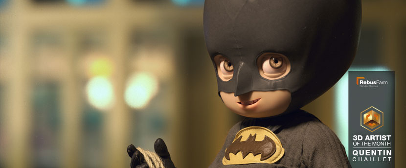 캐릭터 디자인 | 'Little Batman' | Quentin Chaillet